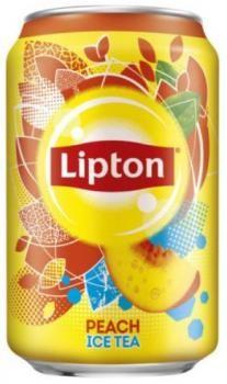 Lipton Ice Tea Peach (24 x 0,33 Liter Cans DE)