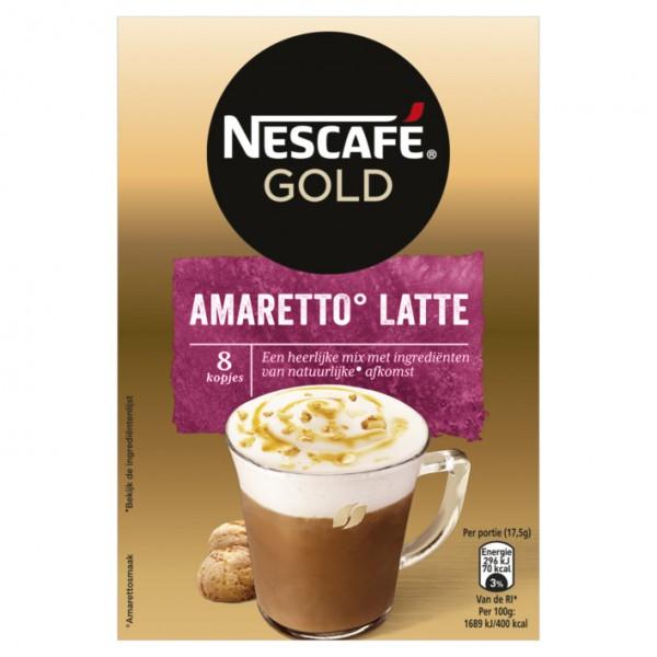 Nescafe Gold Amaretto Latte x 6 (8 x 17,5g)