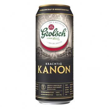 Grolsch Kanon Bier (12 x 0,5 Liter Dosen) 11,6% Alkohol
