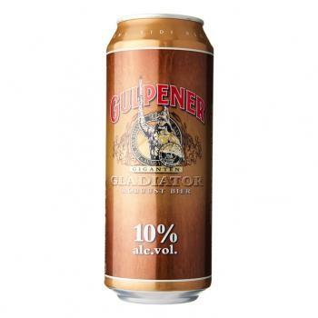 Gulpener Gladiator Beer (24 x 0,5 Liter cans) 10% Alcohol