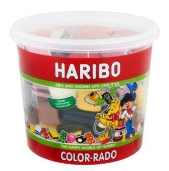 Haribo Color-Rado Silo (650 Gr.)