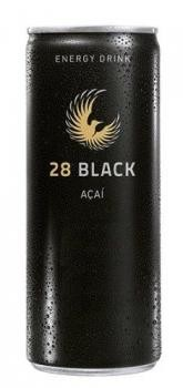 28 Black Açaí Energy Drink (24 x 0,25 Liter blik DE)
