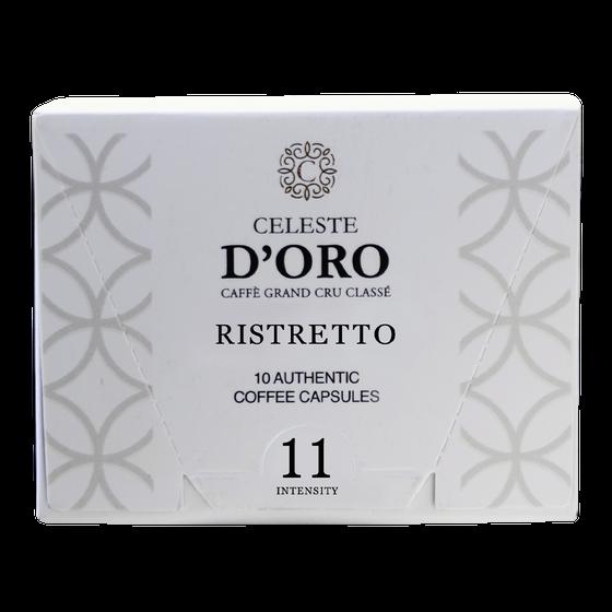 Celeste D'Oro Ristretto Nespresso Cups 10st
