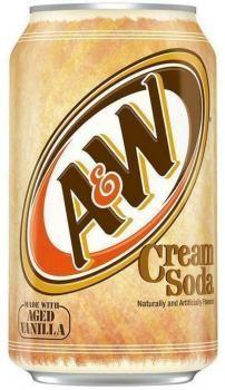 A&W USA Cream Soda (12 x 0,355 Liter blik)