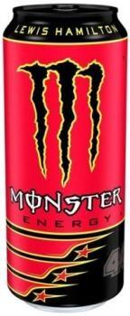 Monster Energy LH44 Lewis Hamilton (12 x 0,5 Liter blik HU)