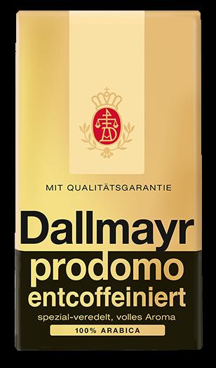 Dallmayr Prodomo Decaffeinated Ground 500g