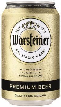 Warsteiner Bier blik (24 x 0,33 Liter) 4,8% Alcohol