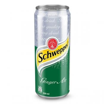 Schweppes Ginger Ale (24 x 0,33 Liter cans BE)