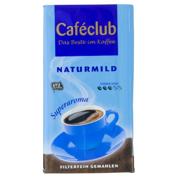 Caféclub Naturmild Ground 500g