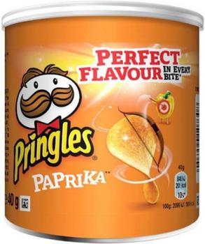 Pringles Paprika (12 x 40 gr.)