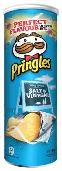 Pringles Salt & Vinegar (3 x 165 gr.)