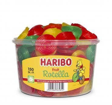 Haribo Fruit Rotella Silo (1200g)