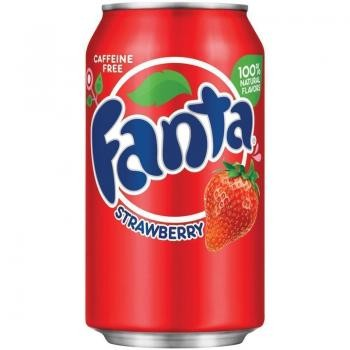 Fanta USA Strawberry (12 x 0,355 Liter Dosen)
