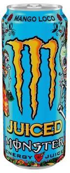 Monster Energy Mango Loco Juiced (12 x 0,5 Liter blik NL)