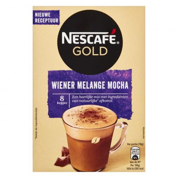 Nescafé Gold Wiener Melange Mocha x 6 (8 x 18g )