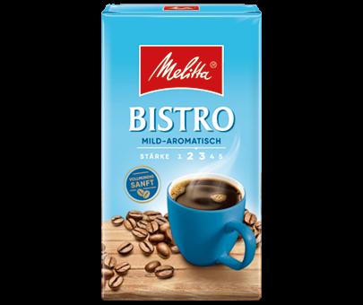 Melitta Bistro mild-aromatisch Gemalen 500g
