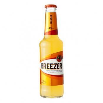 Bacardi Breezer Orange (12 x 0,275 Liter fles) 4% Alcohol