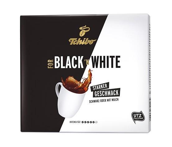 Tchibo Black & White Gemalen 500g