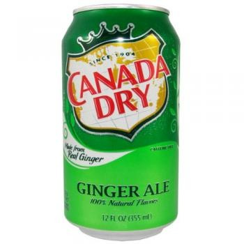 Canada Dry USA Ginger Ale (12 x 0,355 Liter Dosen)