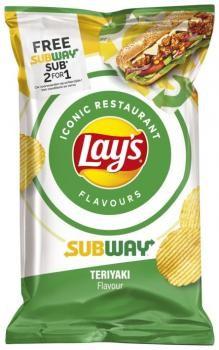Lay's Subway Teriyaki (9 x 150 gr.)