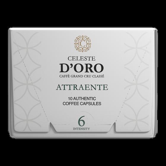 Celeste D'Oro Attraente Nespresso Cups 10st