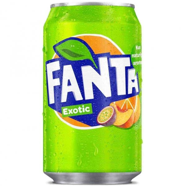 Fanta Exotic (24 x 0,33 Liter Dosen DK)