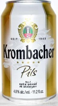 Krombacher (24 x 0,33 Liter Dosen) 4,8% Alkohol