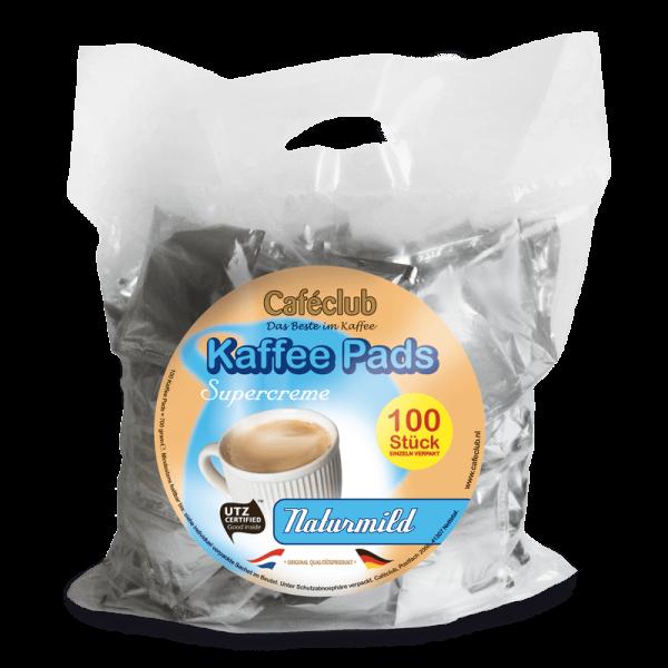 Caféclub Naturmild Pads - Voordeelzak 100 Pads