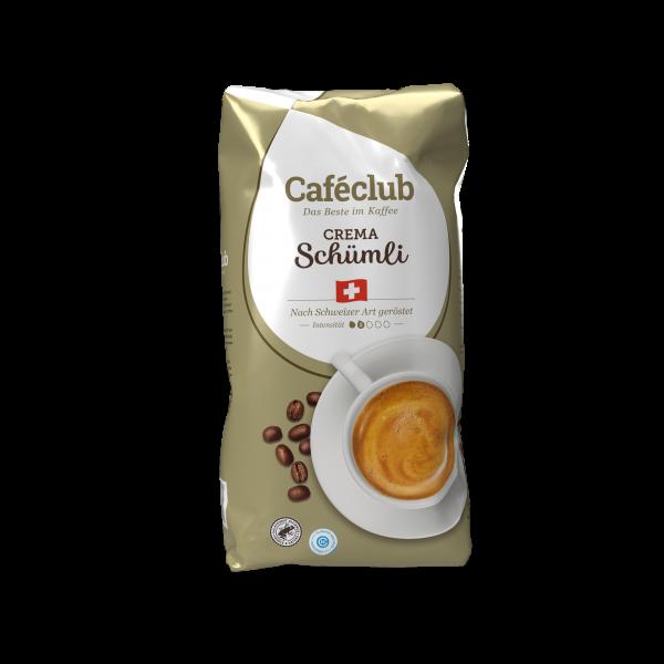 Caféclub Crema Schümli 1kg