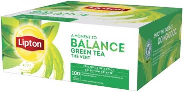 Lipton Balance Green Tea (1 x 100 theezakjes)