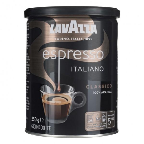 Lavazza Espresso Italiano Classico Gemahlen 12x250g Dose