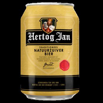 Hertog Jan Bier (24 x 0,33 Liter blik) 5,1% Alcohol