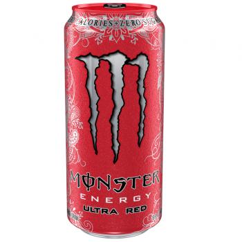 Monster Energy Ultra Red (12 x 0,5 Liter blik PL)