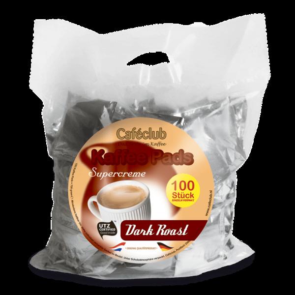 Caféclub Dark Roast Pods - Value Pack 100 Pods