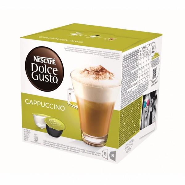 Nescafé Dolce Gusto Cappuccino Cups 8+8 st