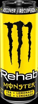 Monster Energy Rehab Tea + Lemonade USA (1 x 0,458 Liter Dose)