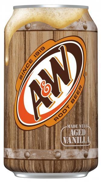 A&W USA Root Beer (12 x 0,355 Liter blik)