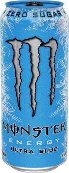 Monster Energy Ultra Blue USA (12 x 0,473 Liter blik)