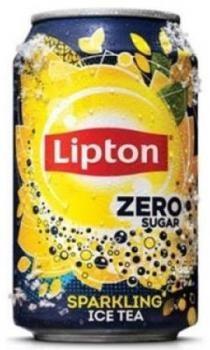 Lipton Ice Tea Sparkling Zero Sugar (24 x 0,33 Liter Dosen)