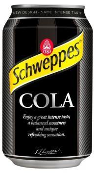 Schweppes Cola (24 x 0,33 Liter blik PL)