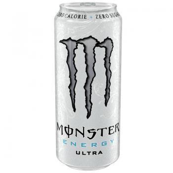 Monster Energy Ultra White (12 x 0,5 Liter blik PL)