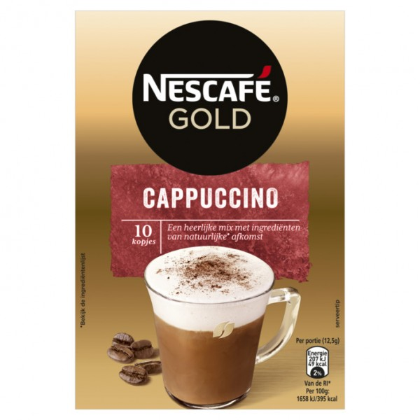 Nescafé Gold Cappuccino x 6 (10 x 12,5g)