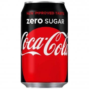Coca Cola Zero Sugar (24 x 0,33 Liter blik DK)
