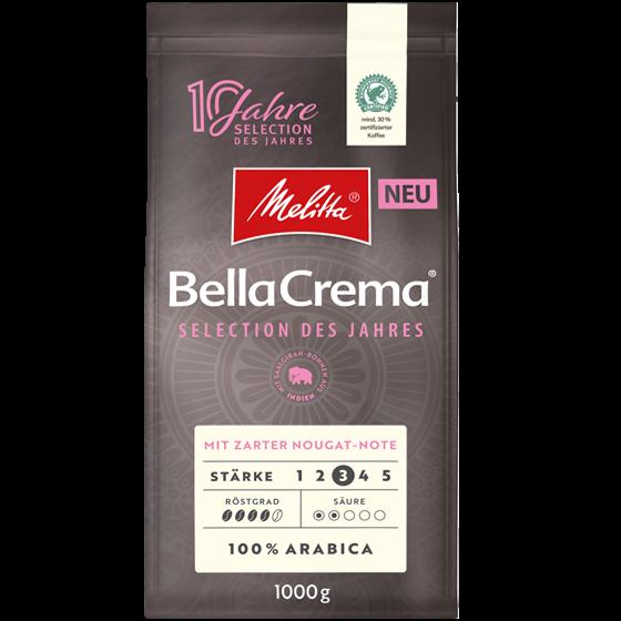 Melitta BellaCrema Selection des Jahres 2021 1kg
