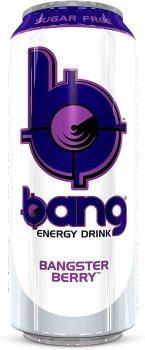 Bang Energy Drink Bangster Berry (12 x 0,5 Liter blik NL)