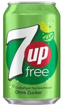 7-Up Free (24 x 0,33 Liter blik DE)