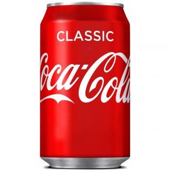 Coca Cola Classic (24 x 0,33 Liter cans DK)