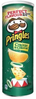Pringles Cheese & Onion (3 x 165 g)